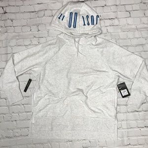Sweaters - Dri Fit Nike Just Do It Cropped Hoodie